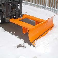 Forklift Attachments to Clear Snow