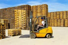 Forklift Attachments for Wooden Pallets