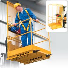 Safety Harnesses for Forklift Platforms