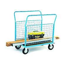 Handling Equipment Online Mesh Sided Heavy Duty Platform Truck