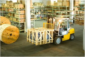 Handling Equipment In The Warehouse