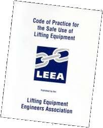 LEEA Safe Use Of Lifting Equipment
