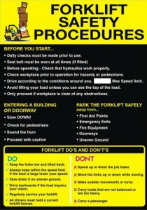 Forklift Safety Procedure