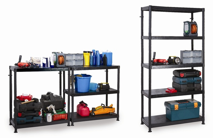 Warrior Modular Plastic Shelving