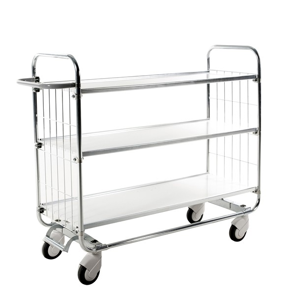 Trolley With Central Locking
