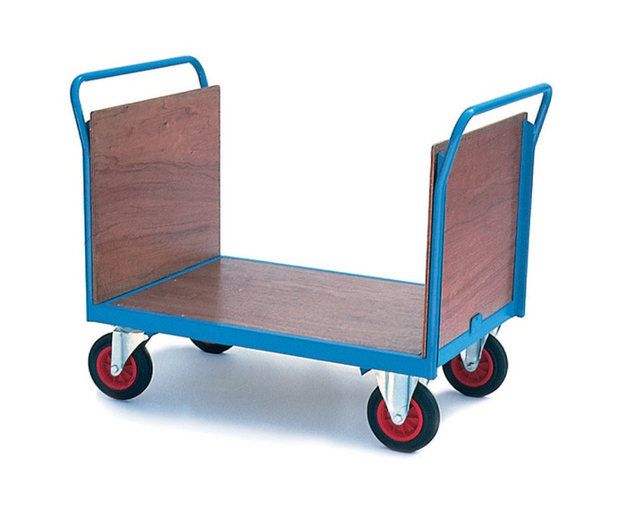 Firm Loading Trolley with Plywood Ends & Sides