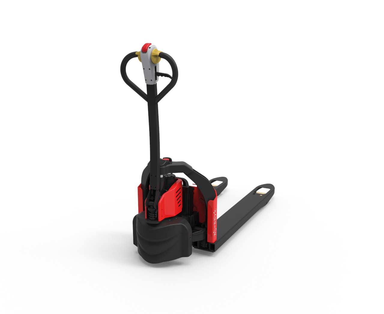 Warrior 1200kg Lithium Powered Pallet Truck with cartridge battery