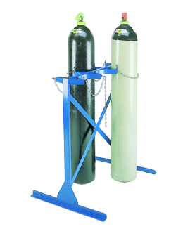 Warrior Double Sided 2 Cylinder (A) Floor Racks