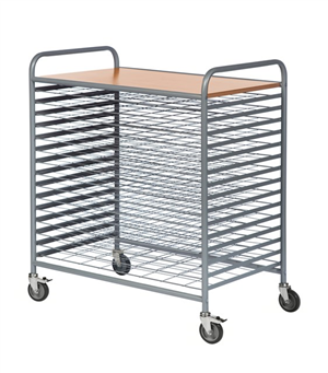 Warrior Drying Trolley - 38Kg Weight