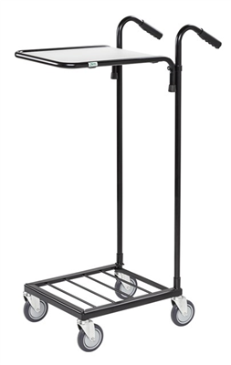 Warrior 35kg Mini Trolley c/w 1 Adjustable Shelf (With Brakes)
