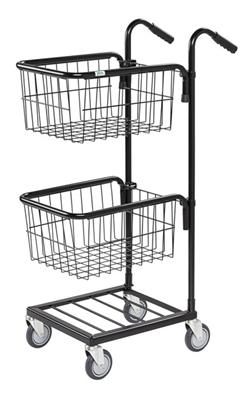 Warrior 35kg Mini Trolley c/w 2 Adjustable Thread Baskets