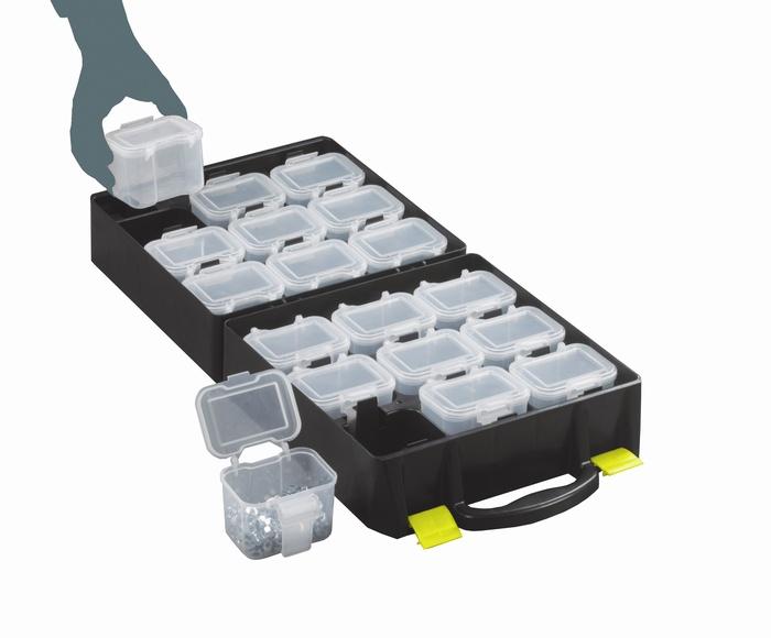 Warrior Topstore Assortment Case c/w 18 Compartments