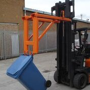 Warrior 100kg Fork Mounted Wheelie Bin Lifter