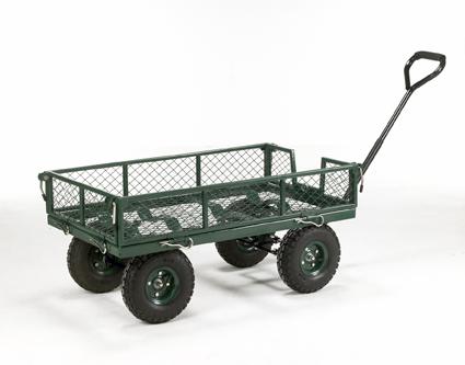 Warrior 250kg Mesh Sided Platform Truck (Garden Trolley)