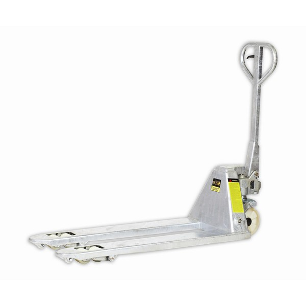 Warrior Galvanised Semi Stainless Steel Pallet Truck
