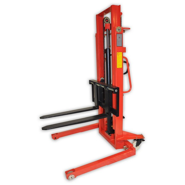 Warrior Manual Straddle Stacker