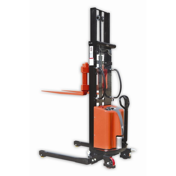Warrior Semi Electric Straddle Stacker
