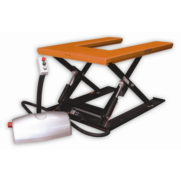 Tiger U Shape Low Profile Static Lift Table