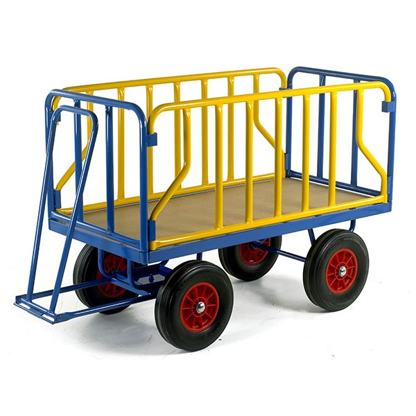 Warrior 500kg Turntable Trailer with Tubular Support