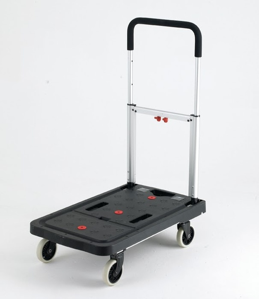 Warrior 120kg Plastic Folding Flatbed Trolley