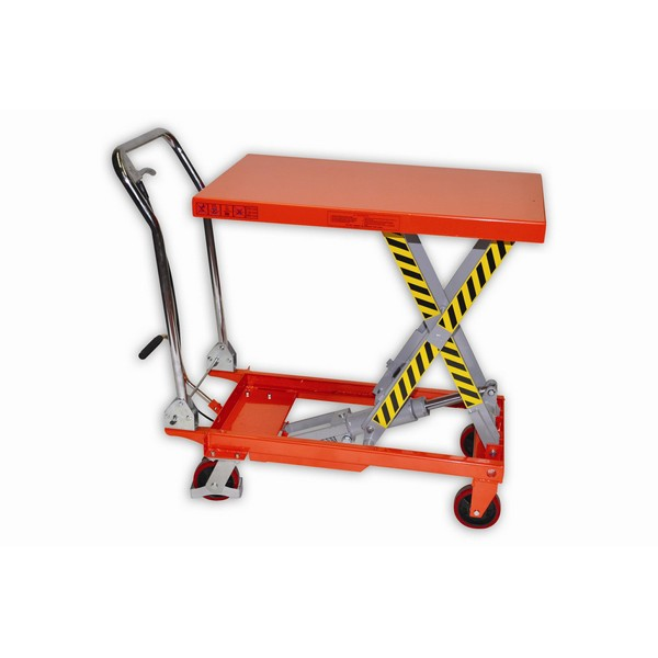 Warrior Eco Extra Large 500Kg Mobile Lift Table