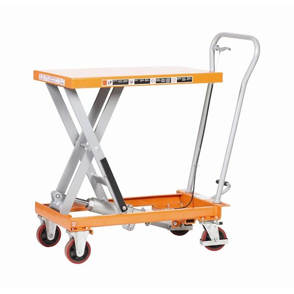 Warrior Premium 1000Kg Manual Mobile Lift Table