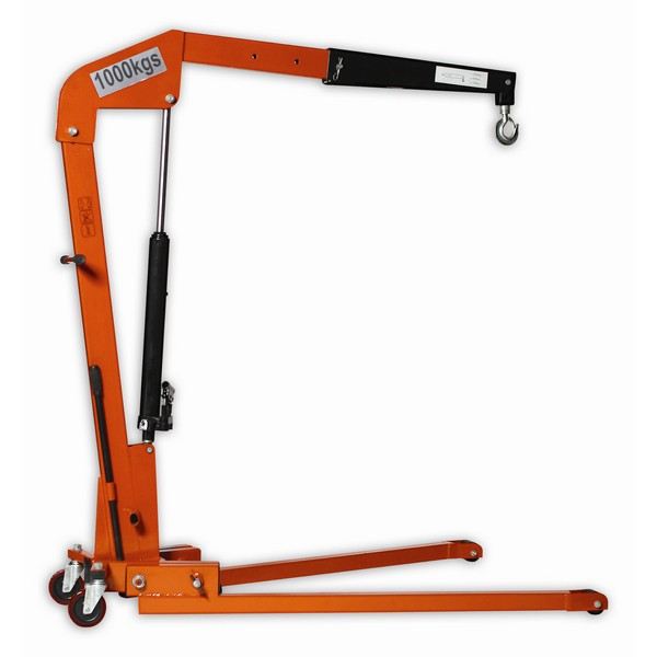 Warrior Heavy Duty Folding Workshop Crane