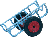 Warrior Medium Duty Load Truck c/w 400mm Diameter Pneumatic Wheels
