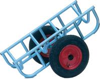 Warrior Heavy Duty Load Truck c/w 400mm Diameter Pneumatic Wheels