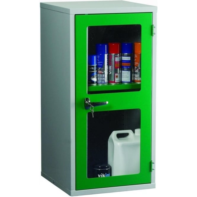 Tiger Polycarbonate Door Cabinet c/w 1 Shelf