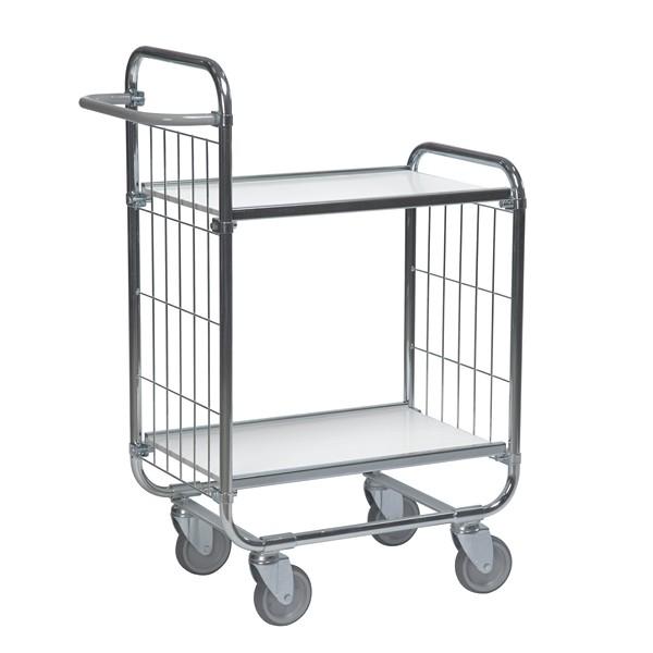 Warrior Flexible Shelf Trolley 1395 x 470 x 1120 mm (2 shelves)