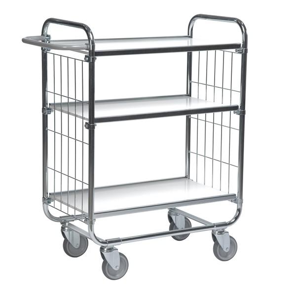 Warrior Flexible Shelf Trolley 1195 x 470 x 1120 mm (3 shelves)