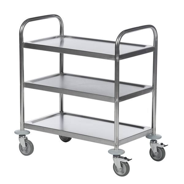 Warrior Stainless Steel Trolley (KM 60351)