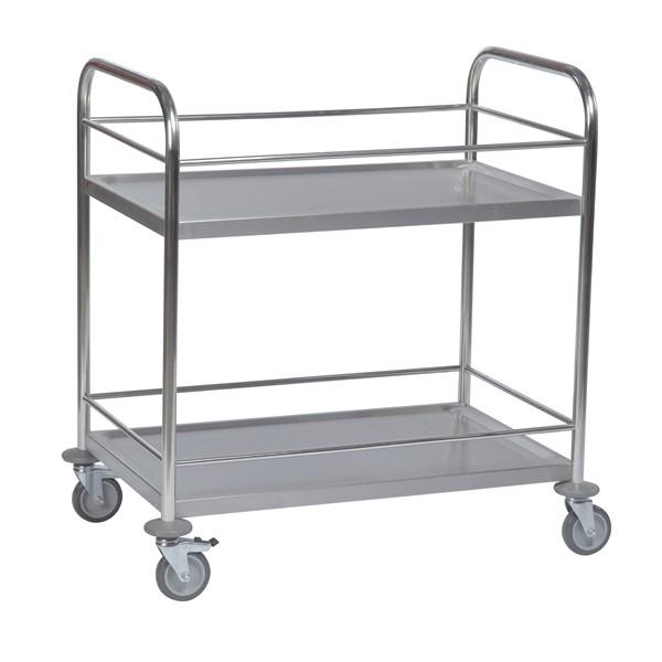 Warrior Stainless Steel Trolley (KM 60357)
