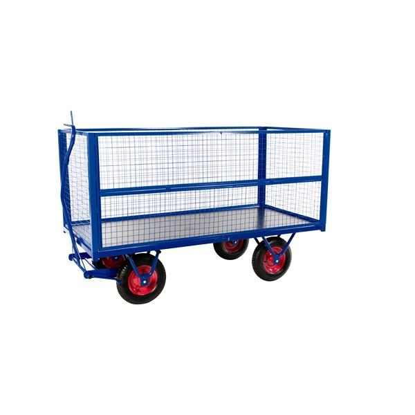 Tiger Mesh Sides to Heavy Duty Trolley