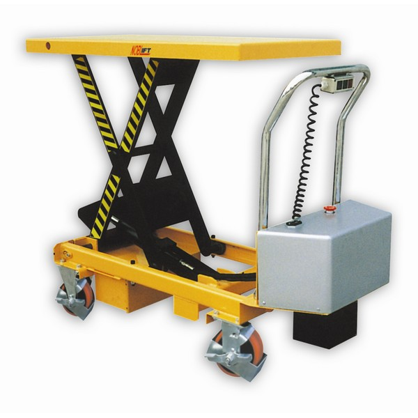 Warrior 750kg Mobile Semi Electric Lift Table