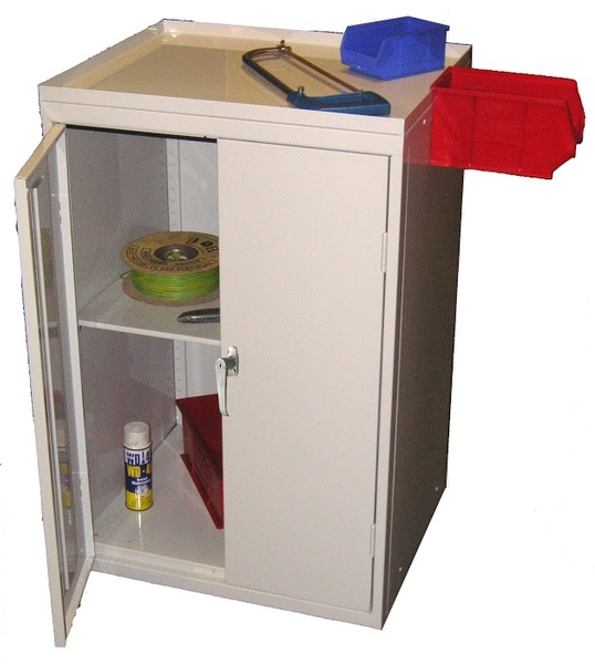 Warrior Tool Cabinet c/w 1 Shelf