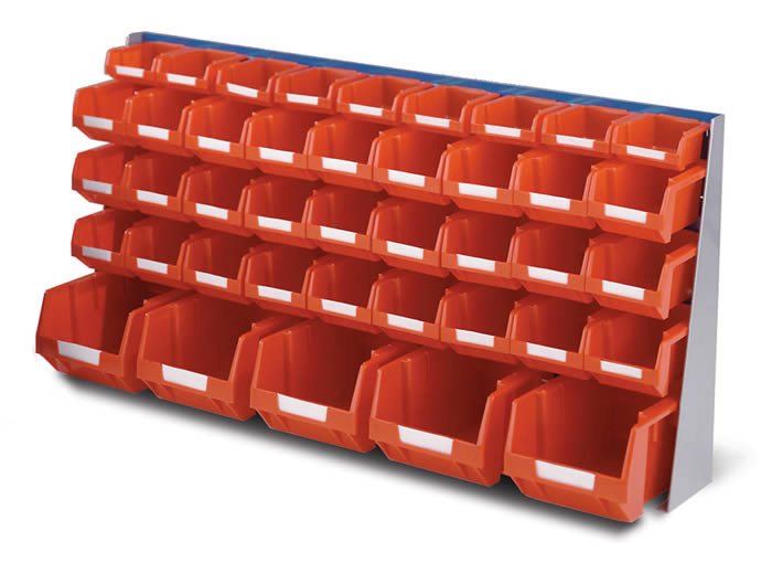 Warrior Topstore Bench Stand (Red)