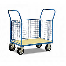 Warrior 500Kg HD Mesh Sided (3 Full) Platform Truck