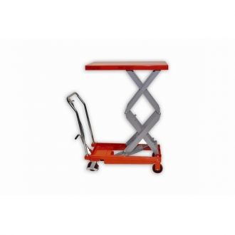 Warrior Eco 800Kg Double Scissors Mobile Lift Table
