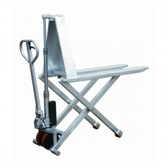 Warrior Galvanised High Lift Pallet Truck
