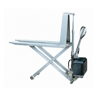 Warrior Manual & Semi Electric Stainless Steel High Lift Pallet Truck