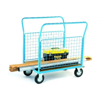 Warrior 500Kg HD Mesh Sided (2 Full) Platform Truck