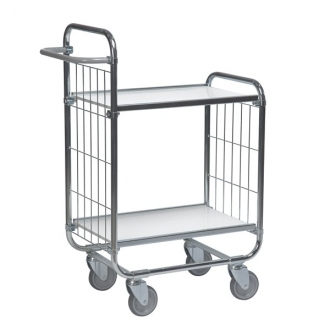 Warrior Flexible Shelf Trolley 1195 x 470 x 1120 mm (2 shelves)