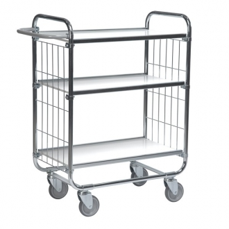 Warrior Flexible Shelf Trolley 1195 x 470 x 1120 mm (3 shelves)