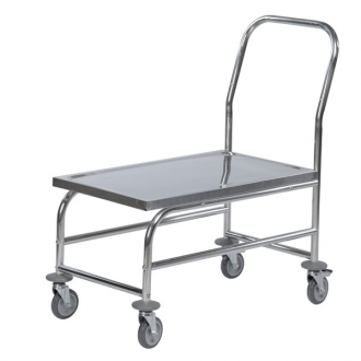 Warrior Stainless Steel Flat Board Trolley (KM 60363)