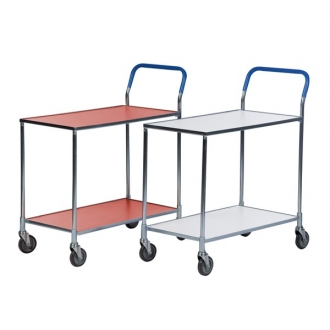 Warrior Shelf Trolley (White) Supplied Knock-Down