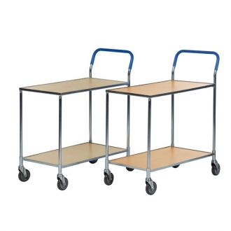 Warrior Shelf Trolley (Birch) - supplied Knock-Down
