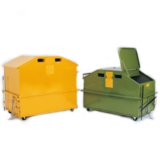 Warrior 1.0m3 Tidy Bin