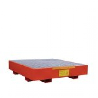 Warrior 2 Drum Heavy Duty Metal Sump Pallet